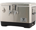 Komos™ Stainless Steel Draft Box (2 Tap)