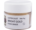 Food Grade Edible Glitter - Bright Gold (4 g)