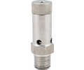 Adjustable Stainless Gas Pressure Relief - 1/4 in. MPT