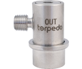 Torpedo Ball Lock Disconnect Beverage Out (Stainless) - 1/4 in. MPT