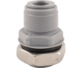 Duotight Push-In Bulkhead - 9.5 mm (3/8 in.) x 1/2 in. BSP