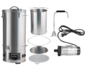 DigiMash All-Grain Electric Brewing System w/ Recirculation Pump Kit - 35L/9.25G (220V)