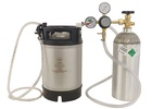 Homebrew Kegging Kit with New 2.5 gal. Ball Lock Keg