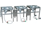 BrewBuilt™ AfterBurner - Complete 3 Burner Propane Brewing Stand