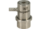 Torpedo Ball Lock Disconnect Beverage Out (Stainless) - Barb
