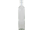 Glass Bottles - 500 mL Flint Square Sided (Case of 12) - Pallet of 154 Cases