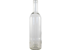 750 mL Clear Bordeaux Wine Bottles - Case of 12
