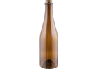 Bottles - 500 ml (16.9 oz) Amber Champagne/Belgian Style - Case of 12
