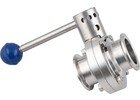 Stainless Steel Butterfly Valve - 1.5 in. T.C.