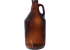 Growler - 64 oz Amber Screw Top