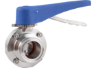 ForgeFit® Stainless Butterfly Valve - 1.5 in. T.C.