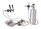 Two Tap Kegerator Conversion Kit