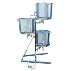 Stainless Steel Gravity Brewing Stand