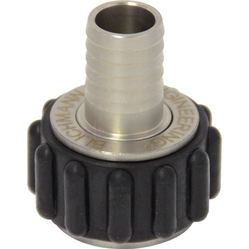 Blichmann Quick Connector - 1/2 in. Straight Barb