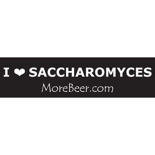 Bumper Sticker - I Heart Saccharomyces