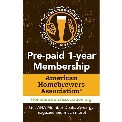 American Homebrewers Association (AHA) New Membership or Renewal (1 year)