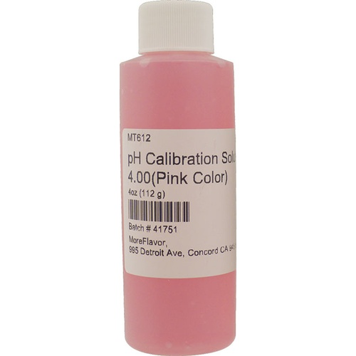 pH Calibration Solution - 4.00