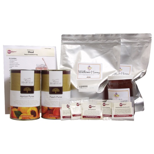 Apricot Peach Melomel Mead Kit