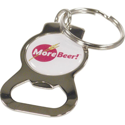 MoreBeer!® Domed & Chromed Bottle Opener