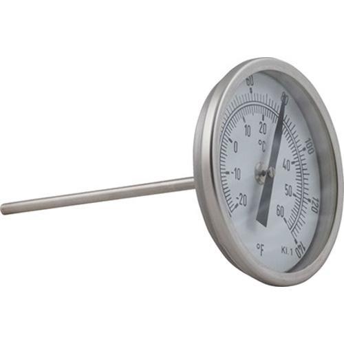 Thermometer for Speidel Tanks with NW 10 DIN 11851 Connection and Thermowell
