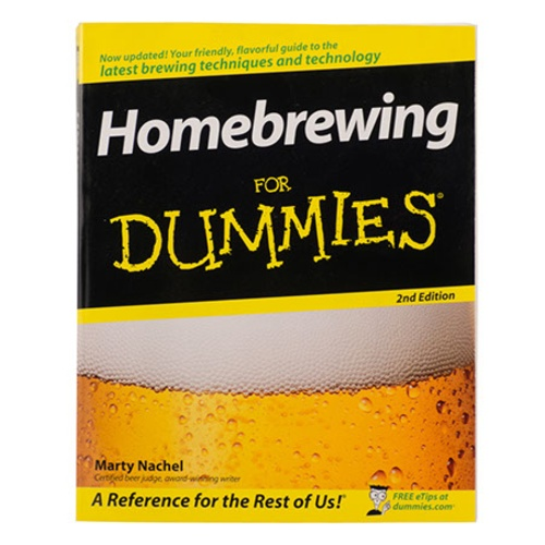 Homebrewing for Dummies Book (Book)