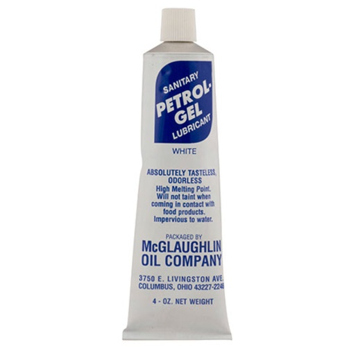 PetroGel - Food Grade Petroleum Lubricant - 4 oz Tube
