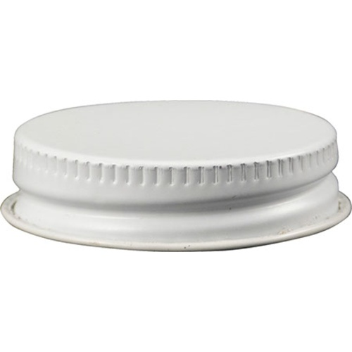 White Metal Screw Cap (38 mm) - Pack of 100