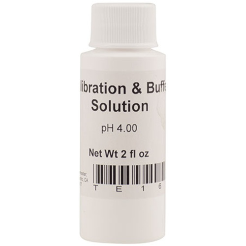 pH 4.00 Standard Buffer Solution - Pink - 2 fl oz