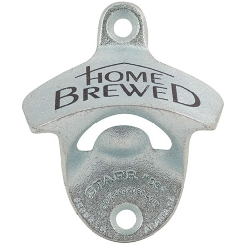 Wall Mount Bottle Opener - Home Brewed