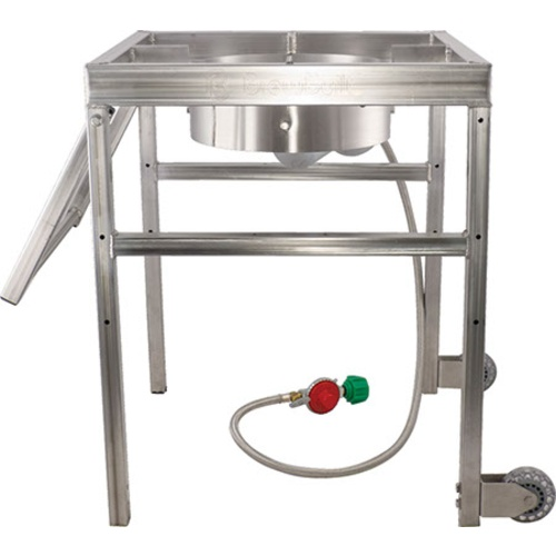 BrewBuilt™ AfterBurner - Propane Brewing Burner with Handle and Casters