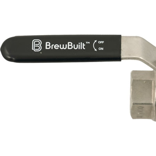 BrewBuilt™ Ball Valve - 1/2 in. Full Port