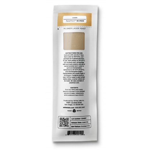 WLP802 Czech Budejovice - White Labs Yeast