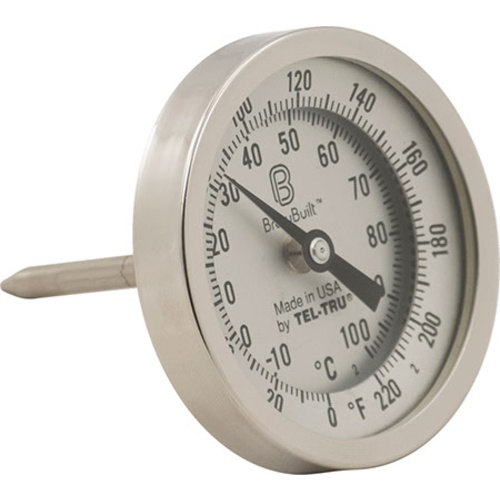 BrewBuilt™ Dial Thermometer - 3 in. Face x 2.5 in. Probe