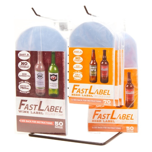 Fastlabel Beer Label Sleeves - 12 oz.