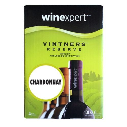 Winexpert Vintner's Reserve Chardonnay Wine Recipe Kit
