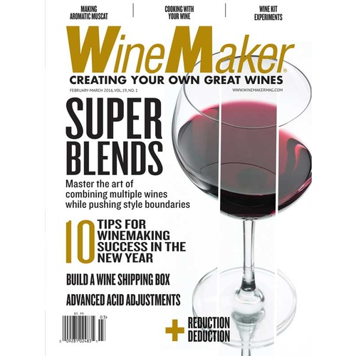 Winemaker Magazine - One Year Subscription