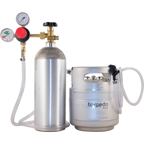 Slimline Torpedo Homebrew Kegging Kit