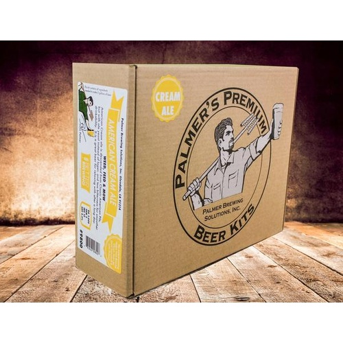 Palmer Premium Beer Kits - Weed, Feed, and Mow - Cream Ale