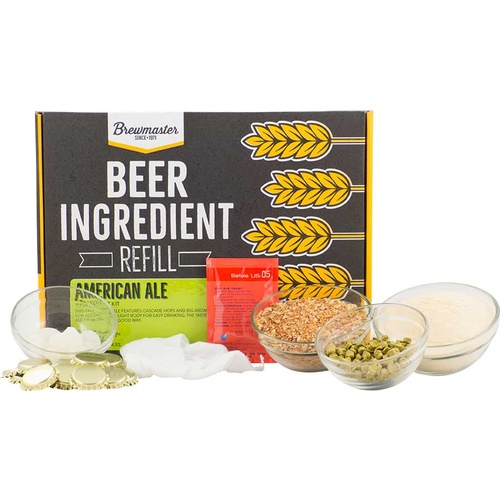 American Ale Beer Brewing Kit (1 gallon)