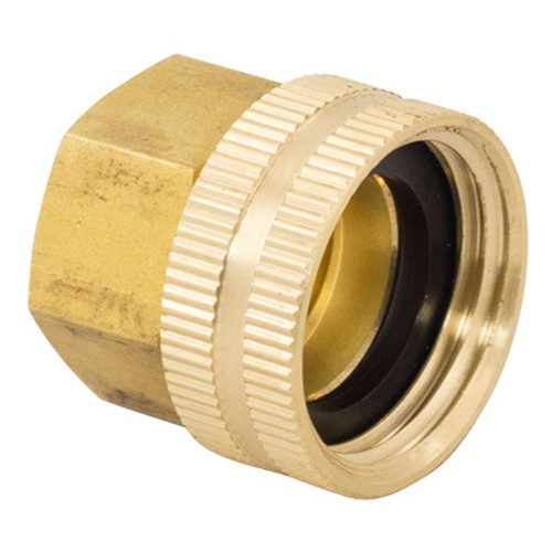 Brass Hose Fittings - Female Hose x 1/2 in. FPT