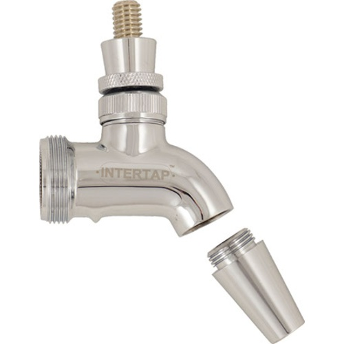 Intertap Beer Faucet - Chrome Plated