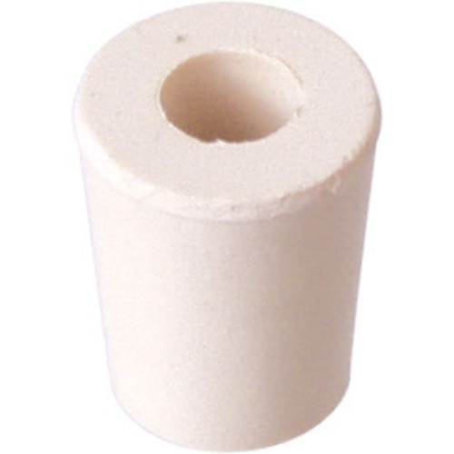 Rubber Stopper - #2 With Hole
