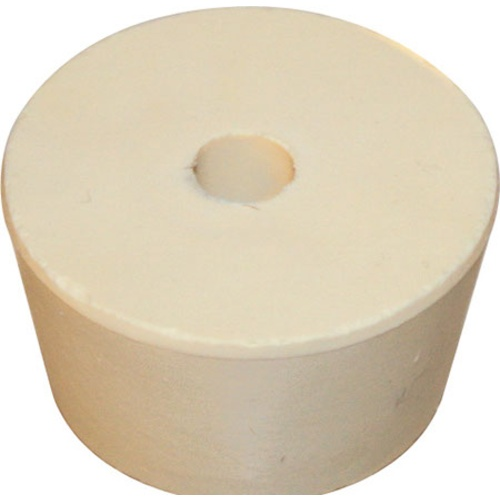 Rubber Stopper - #9 With Hole