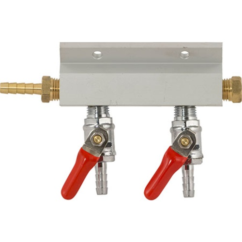 Gas Manifold - 1/4 in. (Aluminum)