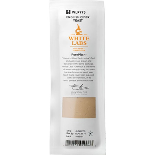 WLP775 English Cider Yeast - White Labs Yeast