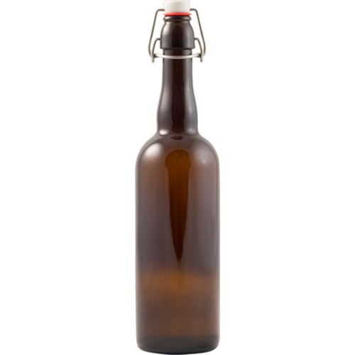 Swing Top Bottles - 750mL Amber (Case of 12)