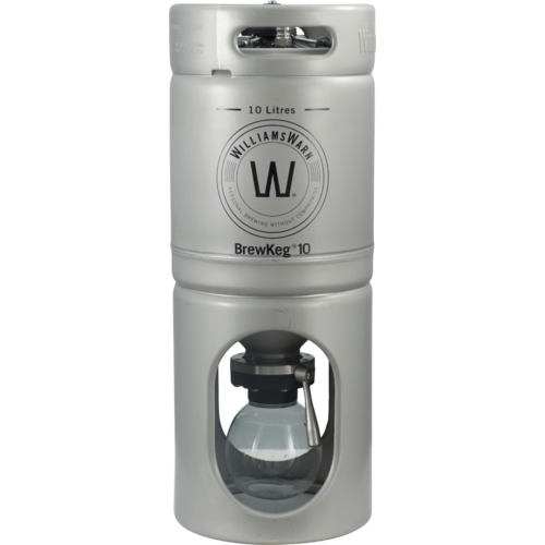 Williams Warn BrewKeg10 - 10 L (2.64 Gallon) Conical Unitank Fermenter