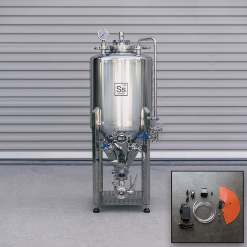Ss Brewtech Unitank - 14 gal (With Heating & Chilling Package)
