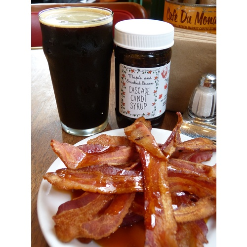 Maple & Smoked Bacon Candi Syrup - 1 lb.
