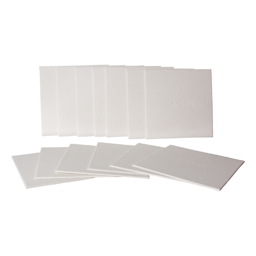 Filter Sheets - 20 cm x 20 cm (0.8 Micron)